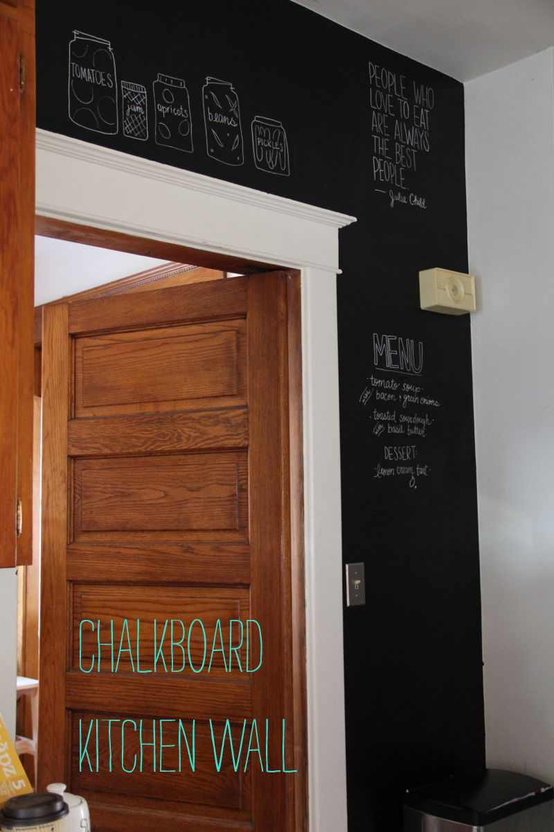 Chalkboard Kitchen Wall Completely Pinteresting Chalkboard Kitchen Wall A Tar Tryin