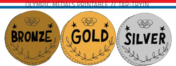 image about Printable Medals called freebies Â« Tar-Tryin